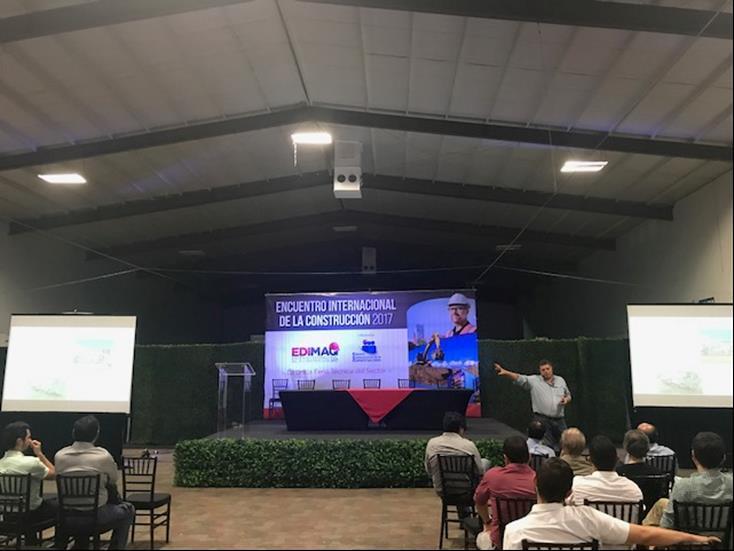 SEGUNDO ENCUENTRO INTERNACIONAL DE CONSTRUCCIÓN Y MAQUINARIA EDIMAQ  2017